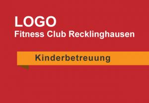 Kinderbetreuung Logo Fitness Club Recklinghausen Bild