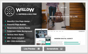 Willow available on themeforest