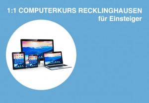 Computerkurs in Recklinghausen laptop