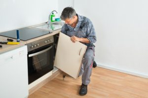 Küche Abbau und Abholung