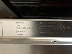 NEFF S21M86N9DE/50