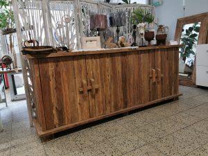 Sideboard Teak Holz Flintstone