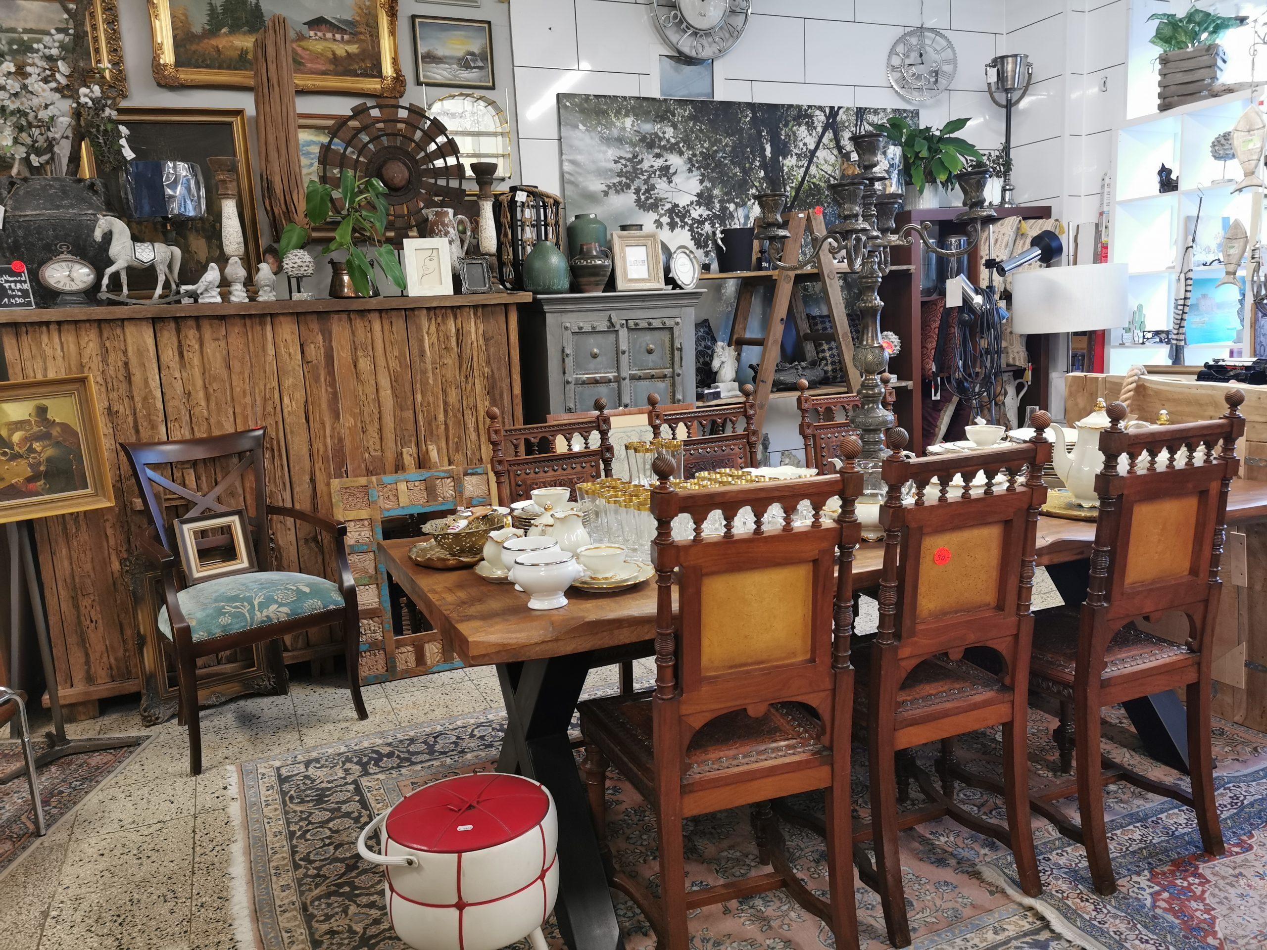 Dekoration und Kleinmöbel