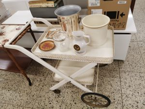 Teewagen Servierwagen Vintage